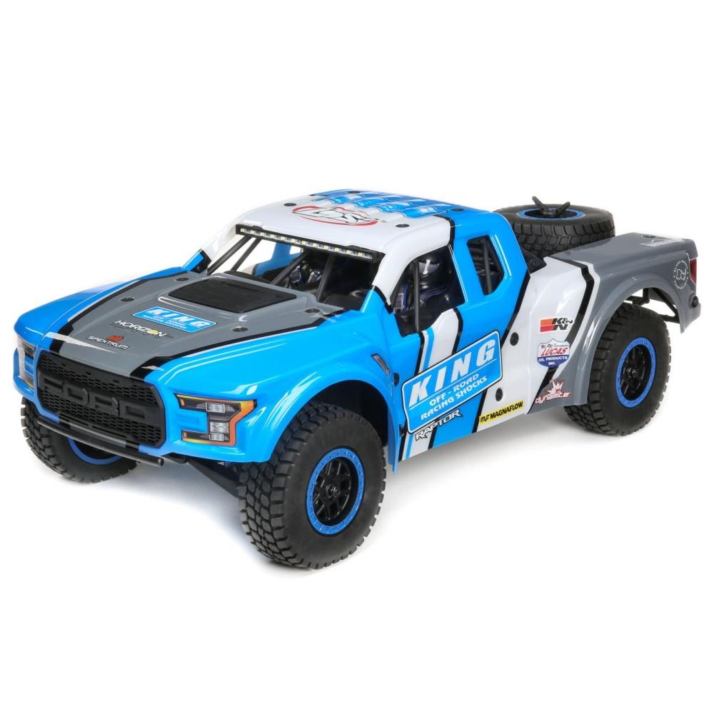 Losi King Shocks Ford Raptor Baja Rey 1/10th 4WD DT RTR