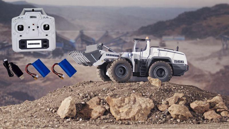 FM-electrics Liebherr Metall-Radlader Mining Edition
