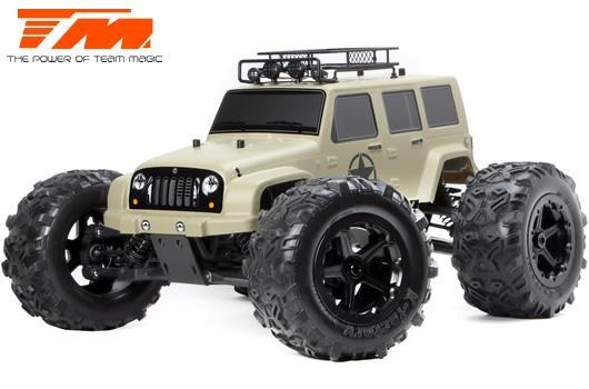Team Magic E6 J-Star Desert 4WD Monster Truck Brushless