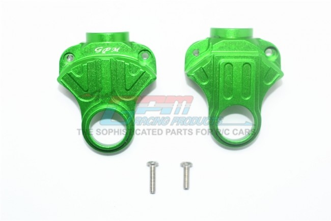 GPM aluminum front/rear differential yoke - 4PC Set for
