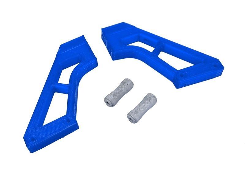 JS-Parts ultraflex Spoilerhalter blau passend für