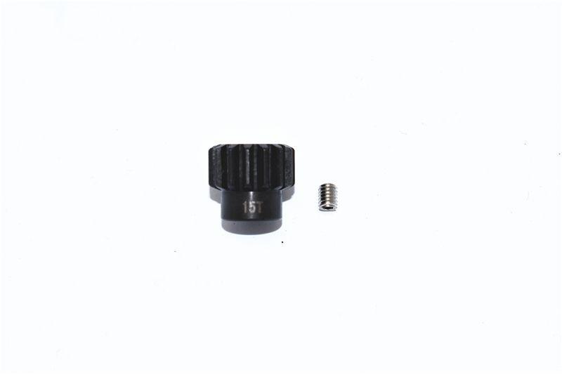 GPM Harden Steel #45 Motor Gear 15T - 2PC Set
