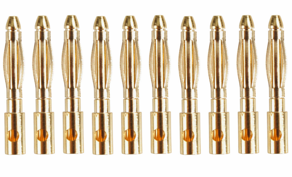 Yuki Model Goldkontakt 2,0mm 10 Stecker