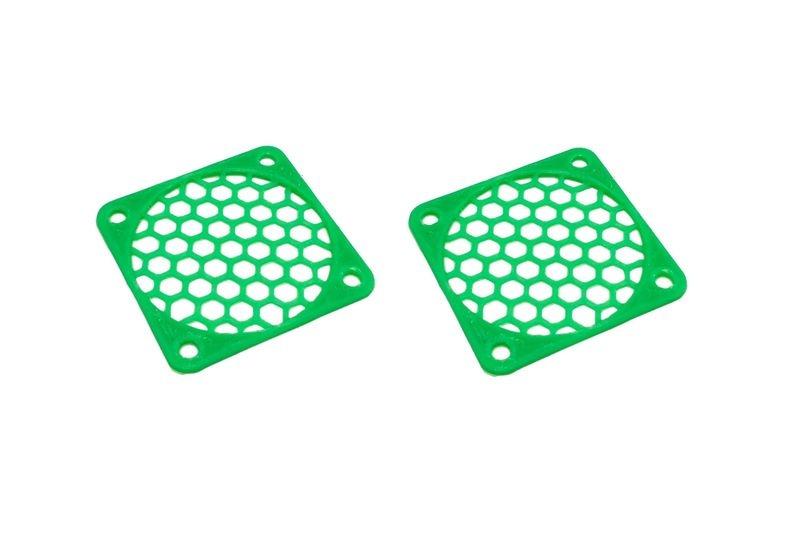 JS-Parts Lüftergitter 45mm / 2 Stück (Set) grün