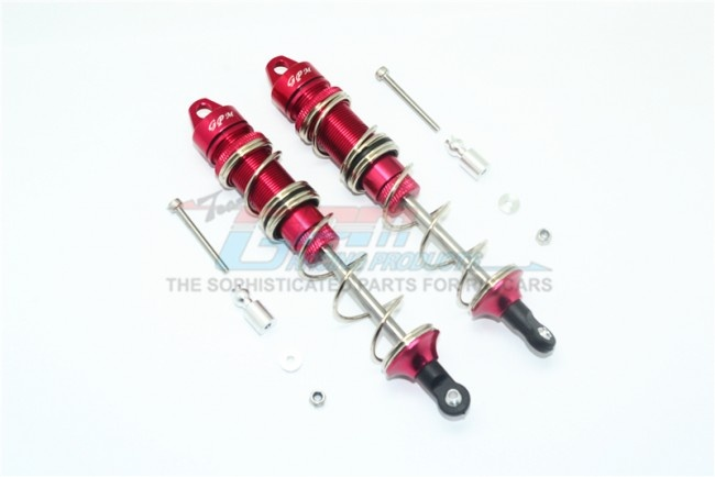 GPM aluminium rear double section spring dampers 135mm