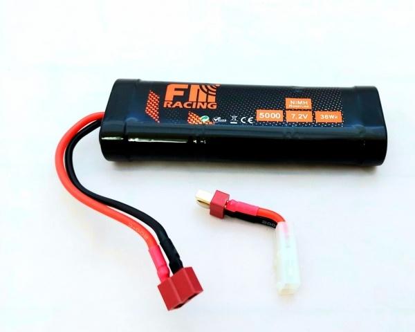 FM-electrics NiMh Racing Pack 7,2 Volt 5000mah T-Plug,