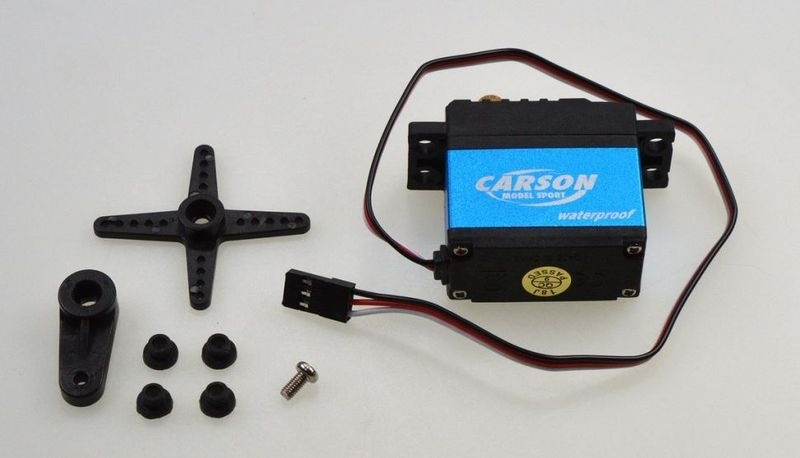 Carson Servo CS-17 Waterproof JR-Stecker