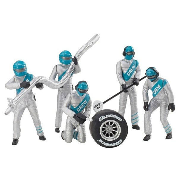 Carrera Figurensatz Mechaniker, Silber