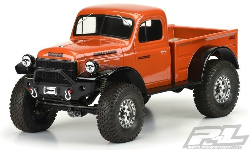 Pro Line 1946 Dodge Power Wagon Karosserie klar