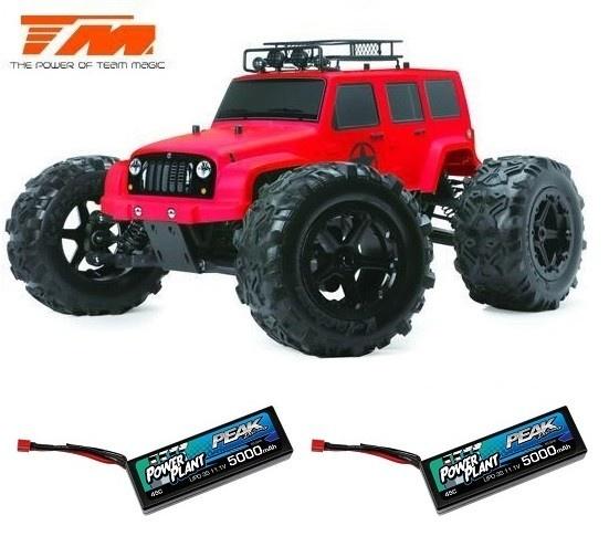 Team Magic E6 J-Star Rot 4WD Monster Truck BL 2.4GHz
