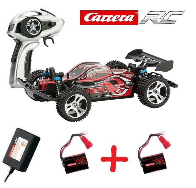 Carrera RC Profi Red Fibre 4WD Buggy 2.4GHz RTR 1:18