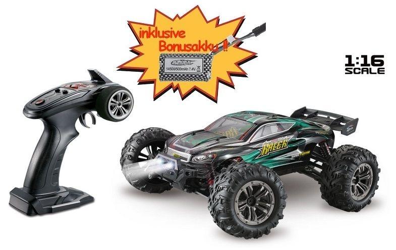 Absima High Speed Truggy RACER schwarz/grün