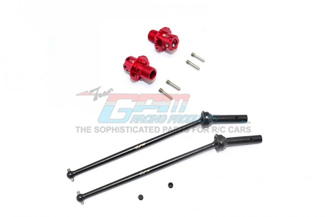 GPM aluminum rear cvd+13mm hex - 10PC Set for Arrma Kraton