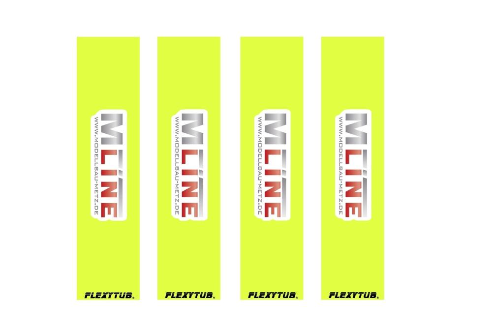Flexytub/MLine Dämpfersocken/Dustcover für Maßstab 1/10 SCT