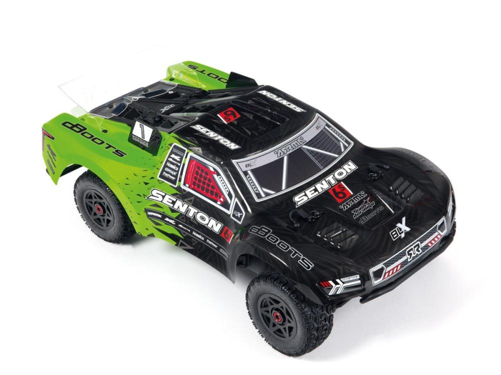 Arrma RC Senton 6S lackierte BLX Karosserie (grün/schwarz)