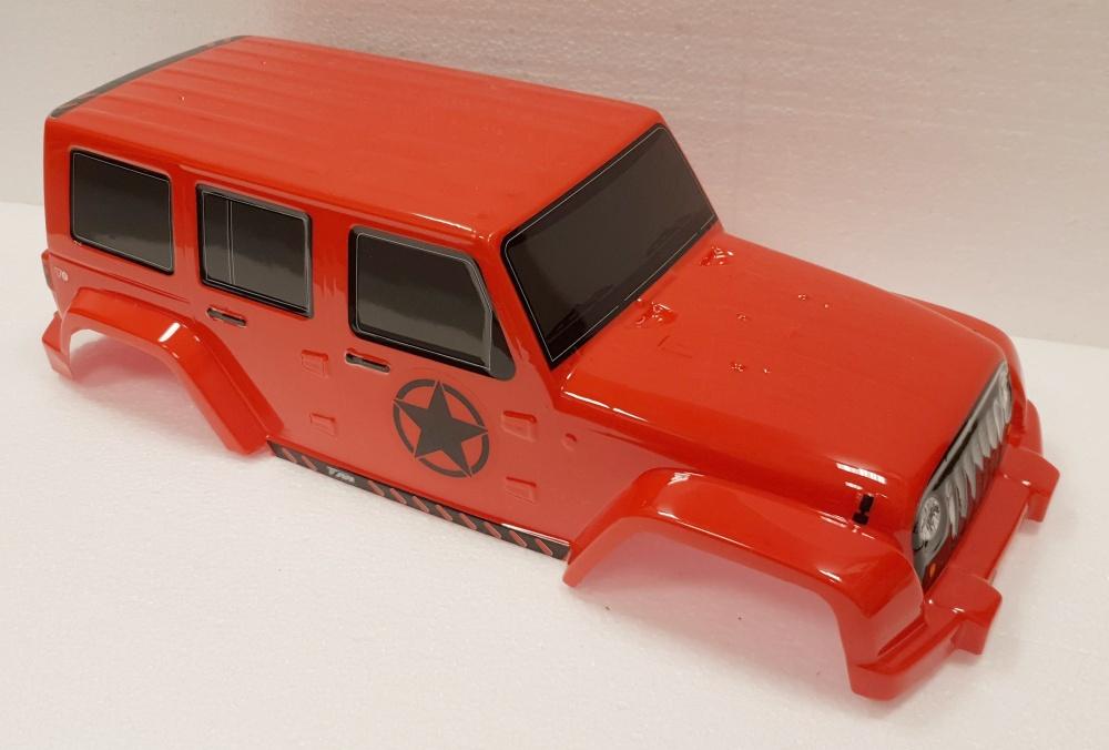 Team Magic Karosserie - Monster Truck - Fertig lackiert -
