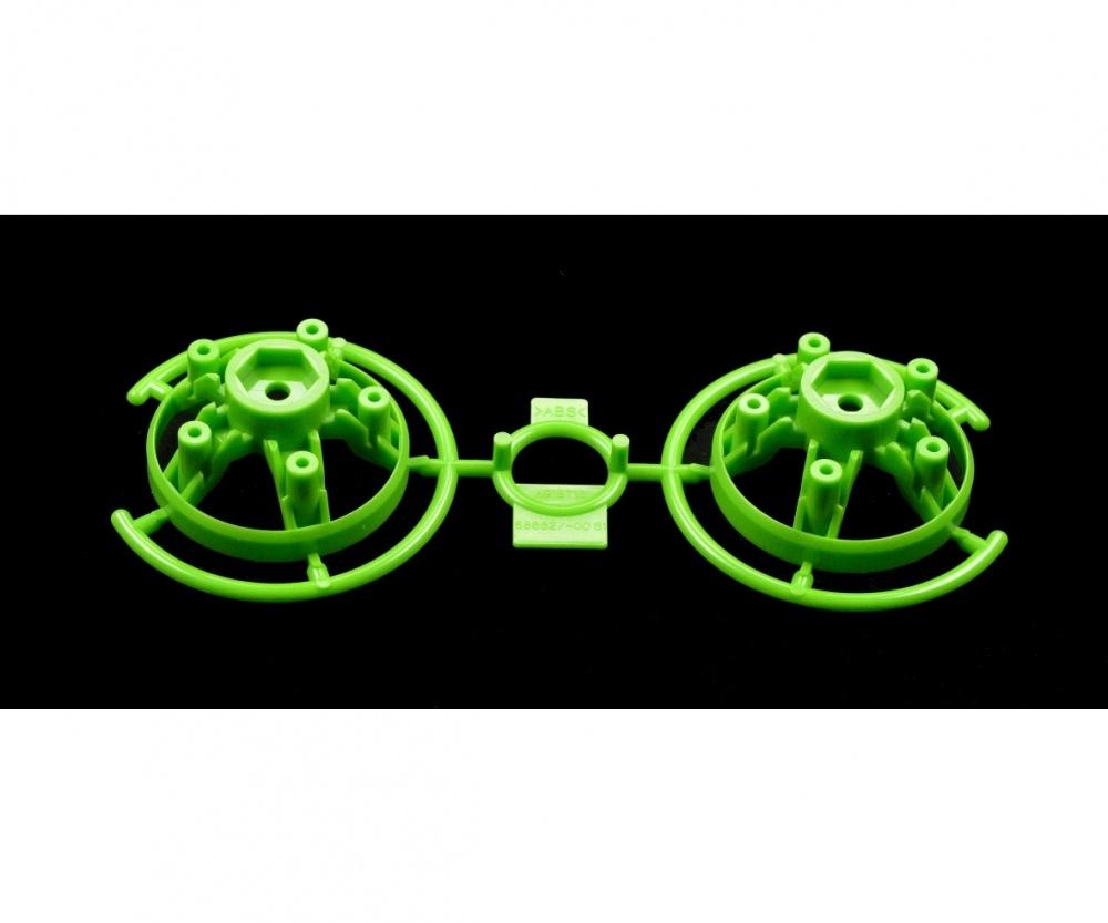 Tamiya S-Teile Felgeneinsätze (2) grün 58662
