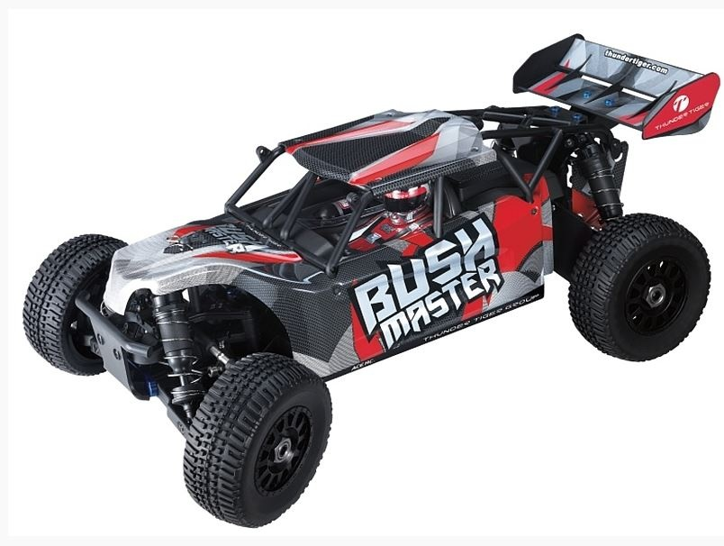 Thunder Tiger Bushmaster BL 4WD TR-Buggy rot 2.4GHz RTR 1:8