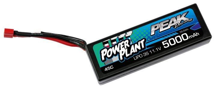 Kyosho Power Plant Peak LiPo 3S 11.1V 5000 45C Deans 12AWG