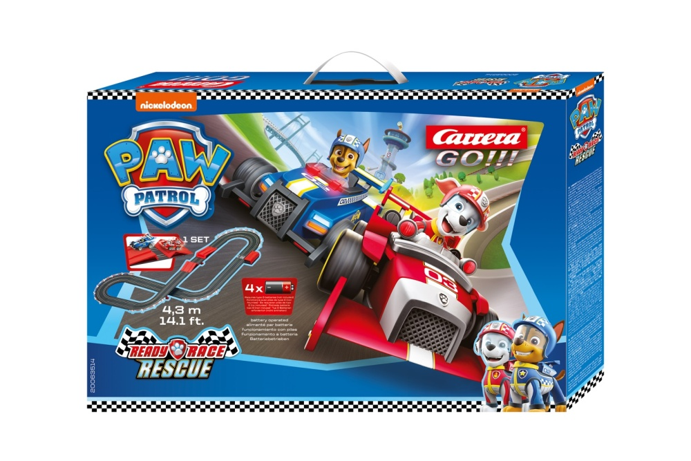Carrera Go!!! BATTERY OPERATED - Paw Patrol - Ready Race