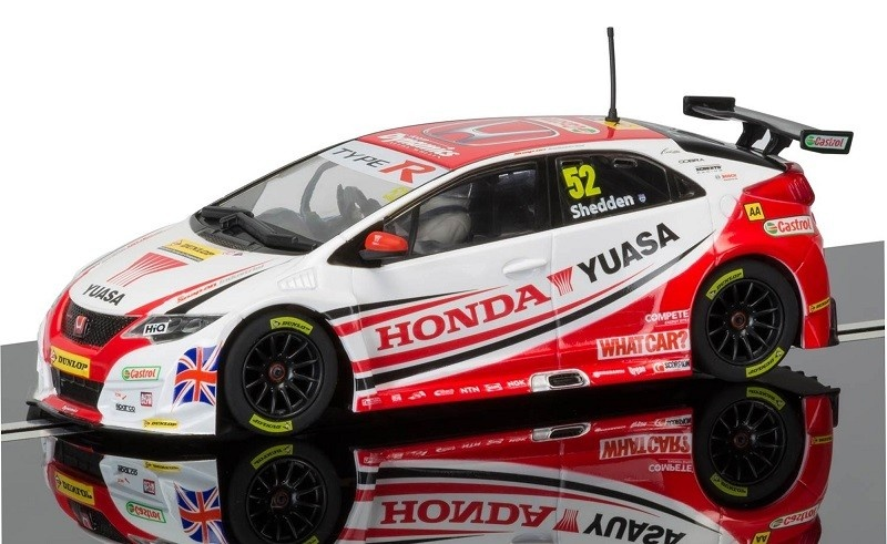 Scalextric Honda Civic Type R #52 BTCC 2015