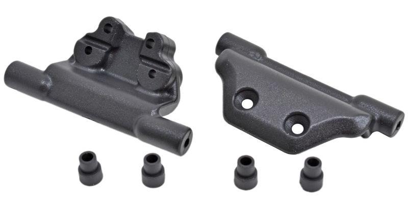 RPM Wheelie-Bar Halterung schwarz (passend für Traxxas 3678)