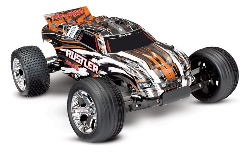 Traxxas Rustler 2WD Monster-Truck brushed TQ2.4GHz
