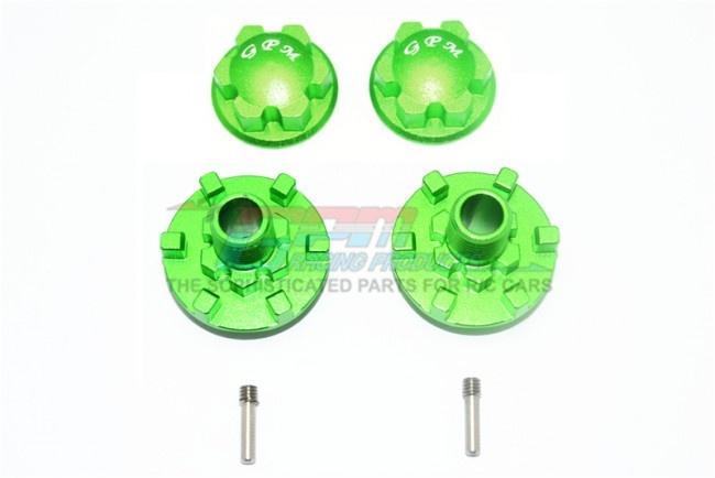 GPM aluminium wheel hex claw + wheel lock -6PC Set for