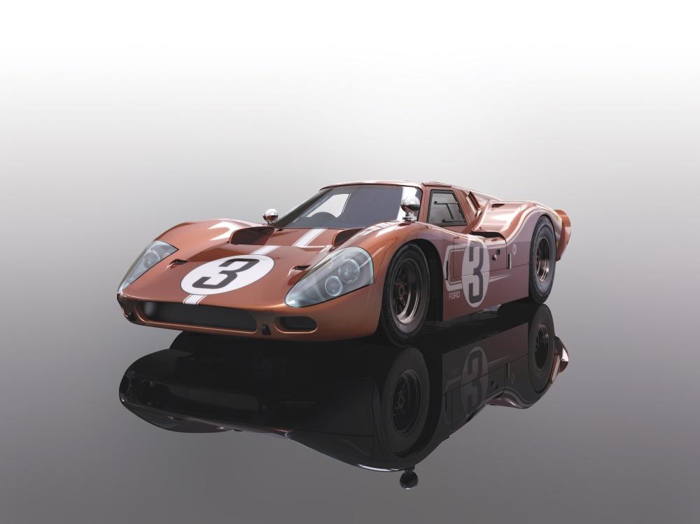 Scalextric 1:32 Ford Mk.IV LM 1967 HD