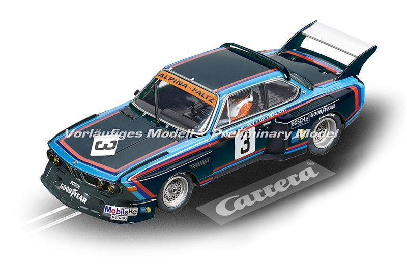 Carrera Digital 132 BMW 3.5 CSL No.3, 6h Silverstone 1976