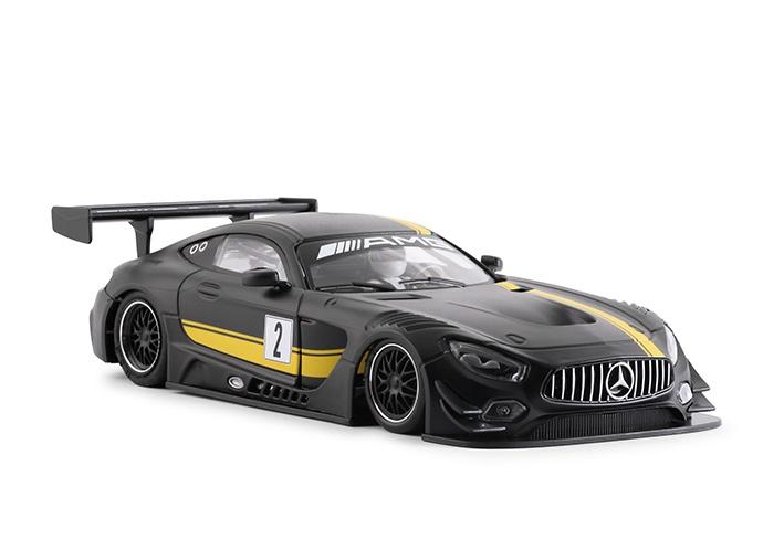 NSR 0098 AW Mercedes-AMG GT3 Test Car Black #2
