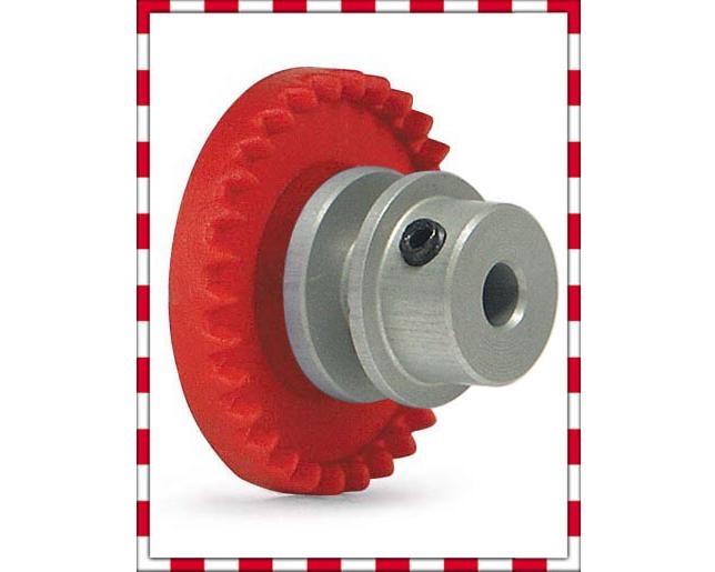 Slot.It Kronzahnrad Al 30 Zähne für Achse 2,38mm, inline
