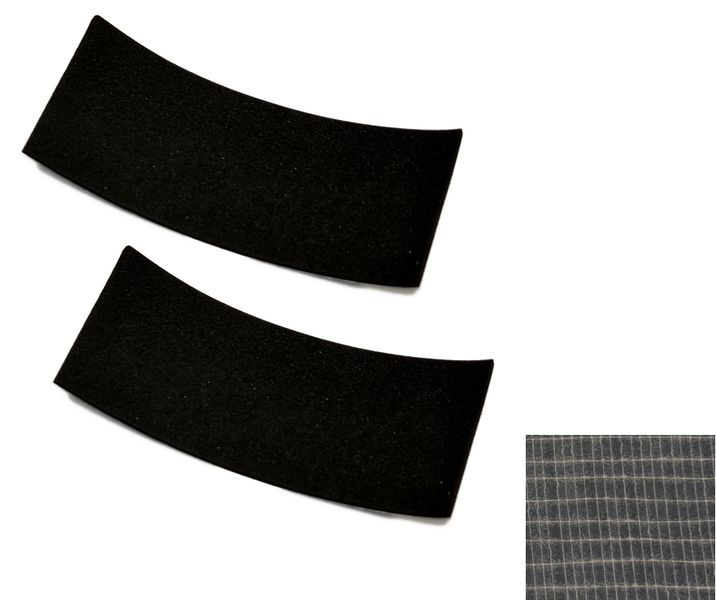 JS-Parts Antirutschmatte 2x 50x110mm selbstklebend