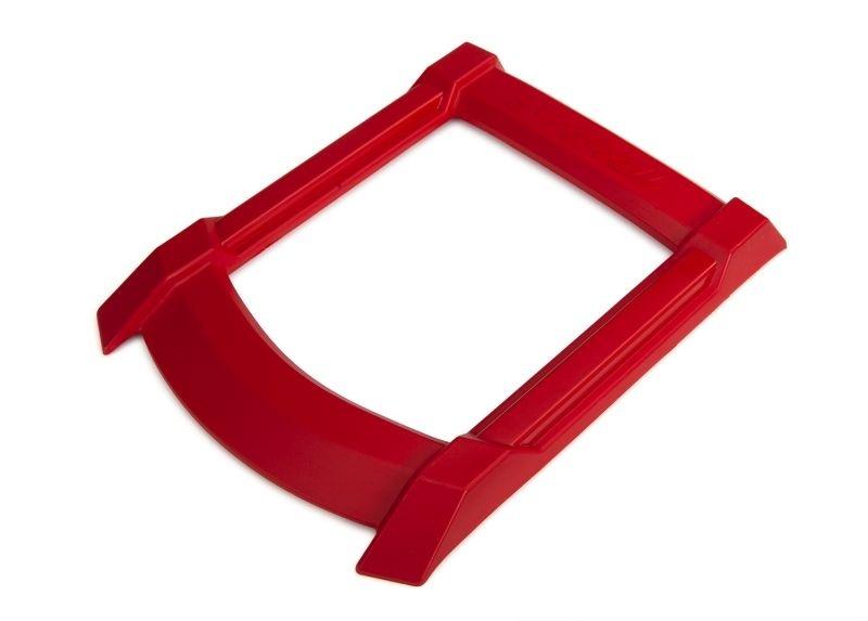Traxxas Dach Skid-Platte rot (erfordert TRX7713X)