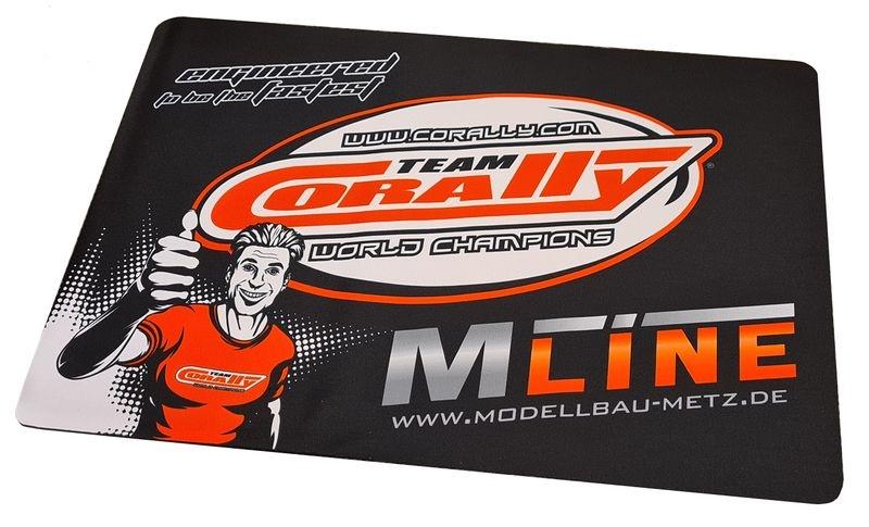 MLine / Team Corally Schraubermatte/Pit Mat 600x400mm