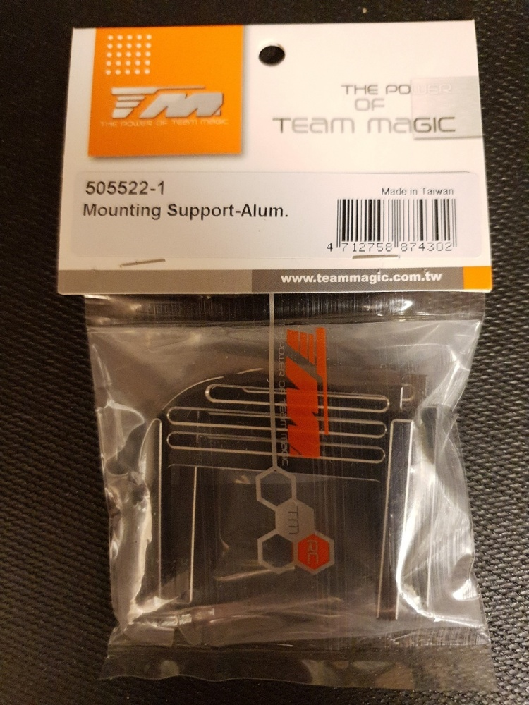 Team Magic Spare Part - E6 V-GEN - Mounting Support-Alum.