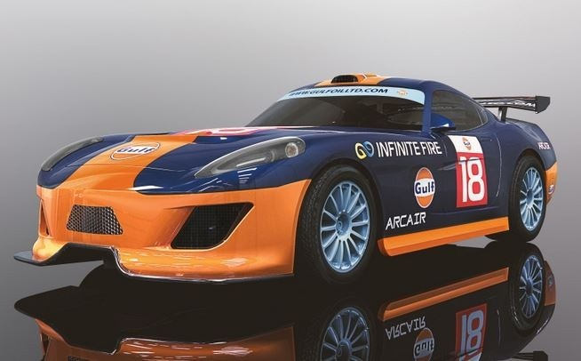 Scalextric 1:32 Team GT Gulf #18 SRR