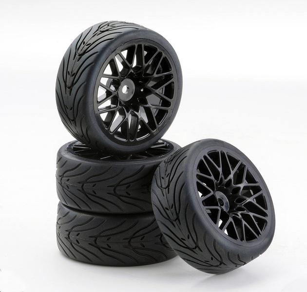 Ansmann SC-Räder LM Style schwarz 1:10, 4 Stück
