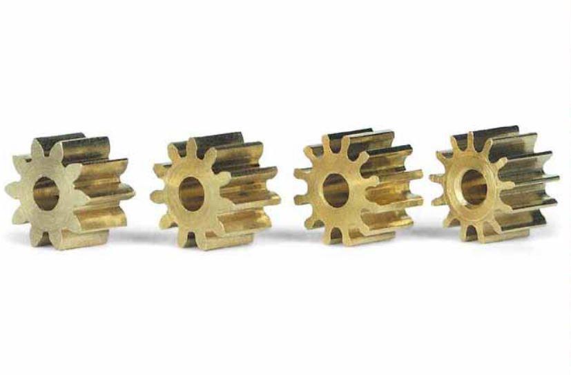 Slot.It Motorritzel-Satz PAS 6,5mm für 2,00mm 4 Stk.,