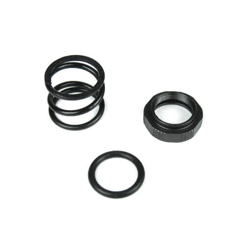 Tekno RC TKR5231 - Servo Saver Nut, Spring and O-Ring