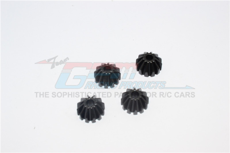 GPM steel small bevel gear - 4PCS for Tamiya TT-02 & TT-02B