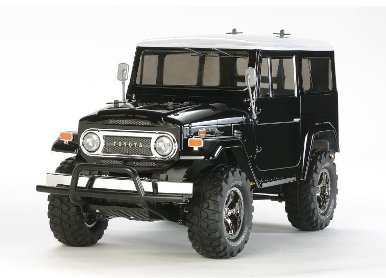 Tamiya RC Land Cruiser 40 Black (CC-01) Bausatz 1:10