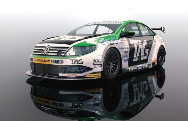 Scalextric 1:32 VW Passat CC NGTC BTCC17 #24 HD