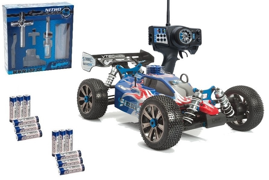 LRP S8 Rebel BX 2.4GHz RTR LIMITED 1/8 Verbrenner Buggy -