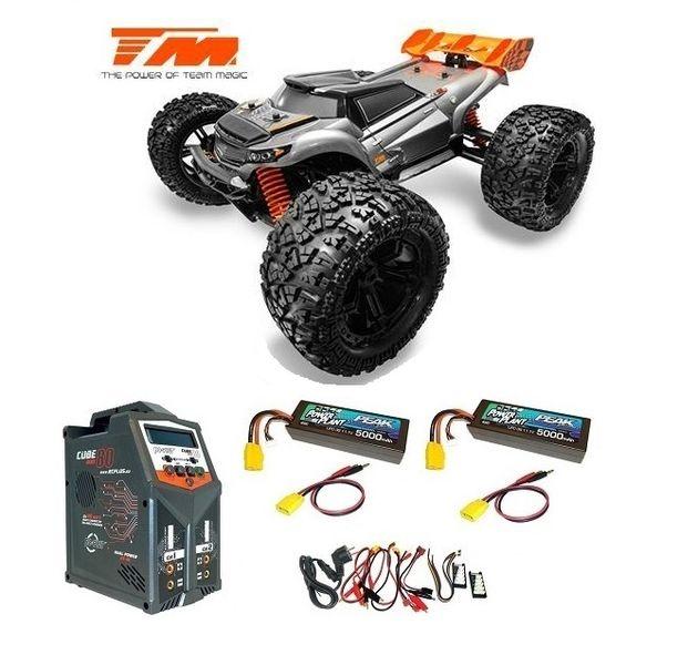 Team Magic E6 III HX 4WD Elektro Monster Truck BL 2250KV/