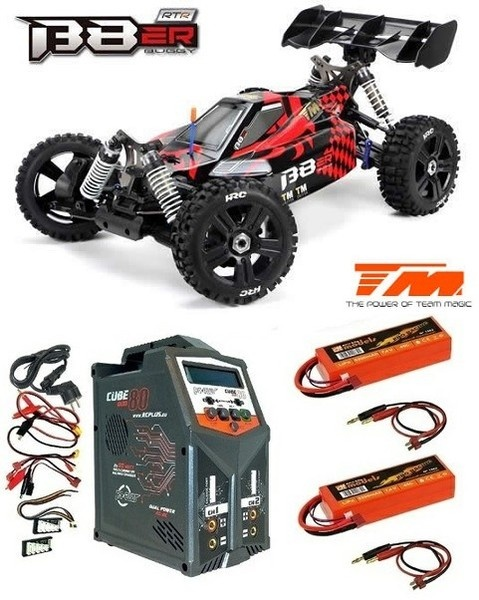 Team Magic B8ER 4WD Elektro Buggy BL 2500kv - 4S 2.4GHz