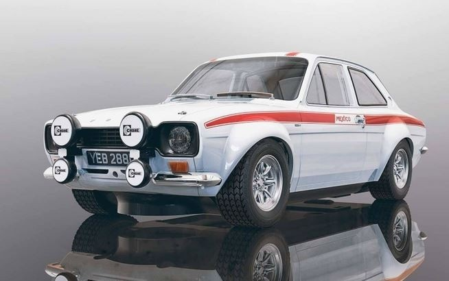 Scalextric 1:32 Ford Escort MK1 50th Anniversary HD
