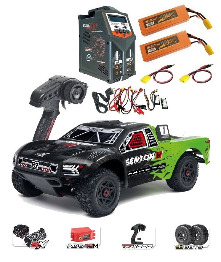 Arrma Senton 6s BLX 4WD Electric Short Course Truck 2.4GHz