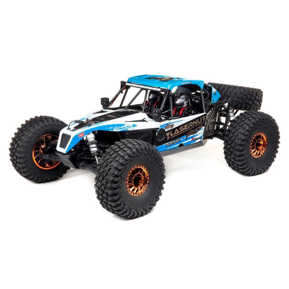 Losi Lasernut Tenacity Ultra 4 Blue, 4WD Rock Racer,