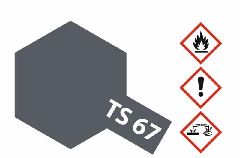 Tamiya Acryl-Sprühfarbe TS-67 IJN Grau Sasebo Arsenal matt